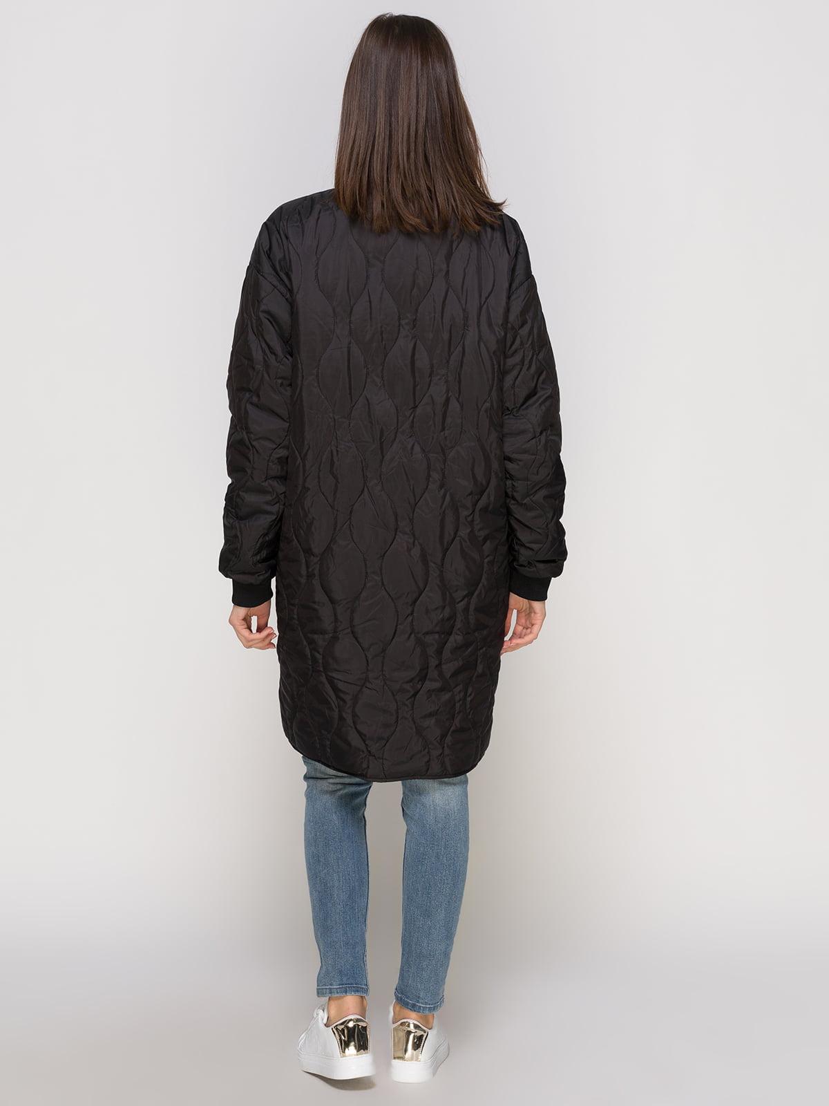 Пальто черное | 4775134 | фото 3