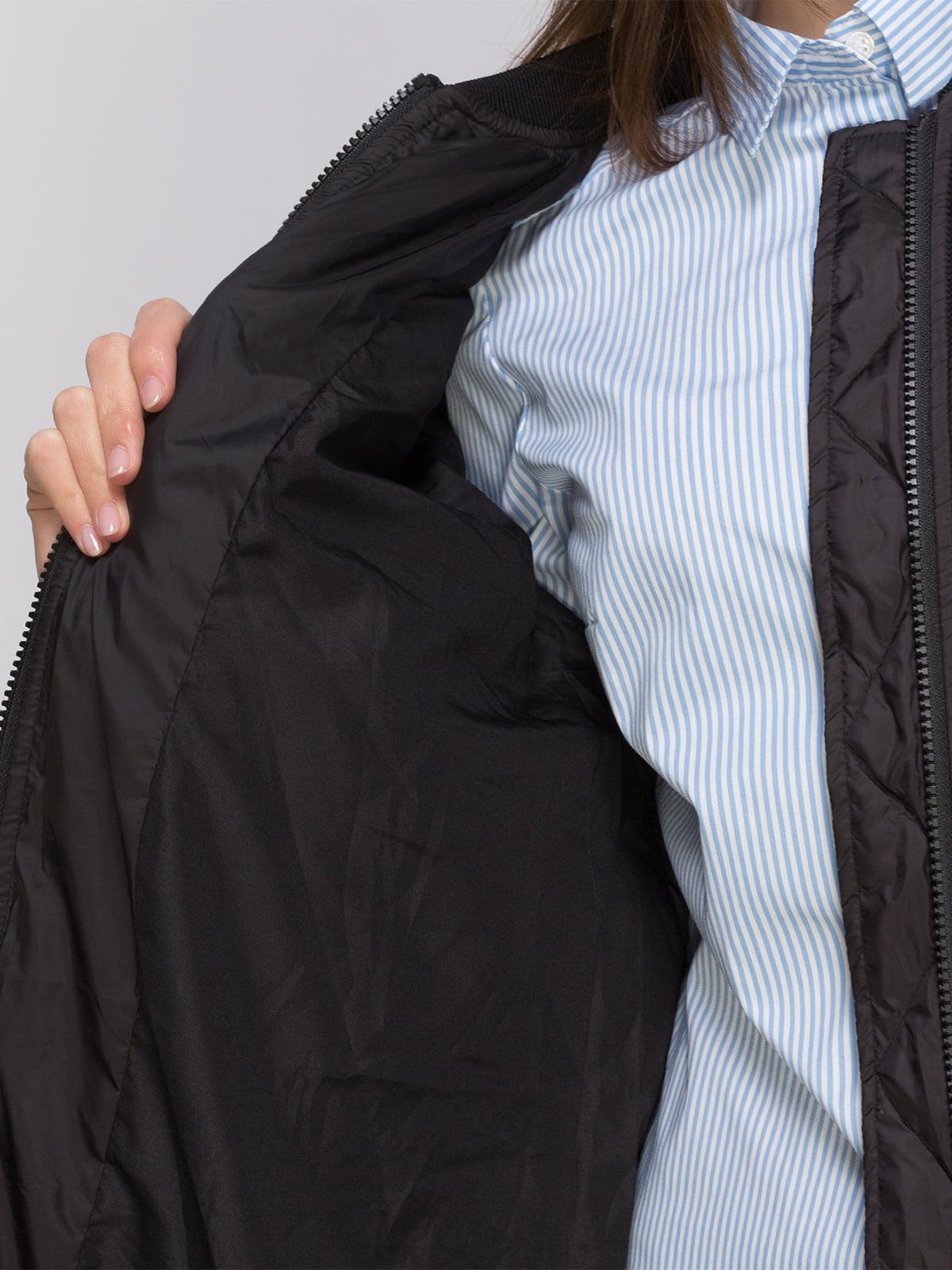 Пальто черное | 4775134 | фото 4