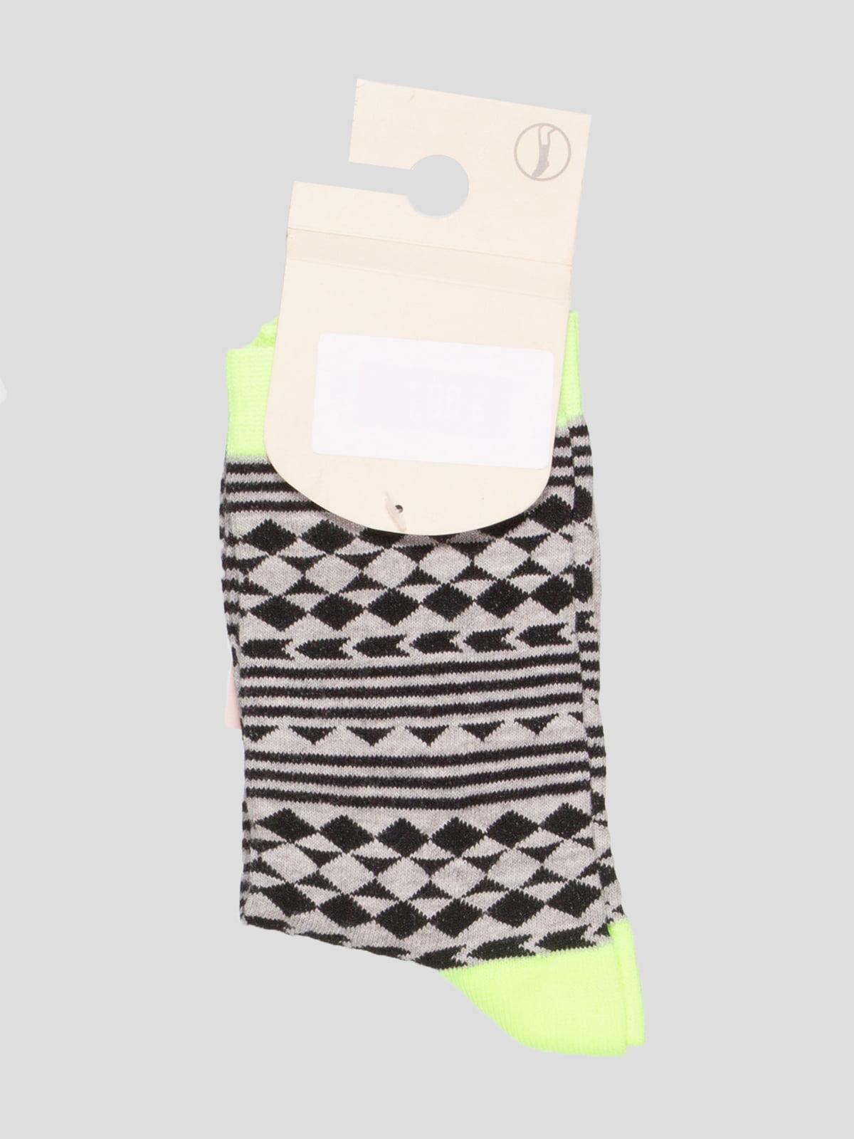 Шкарпетки в ромби | 4647029