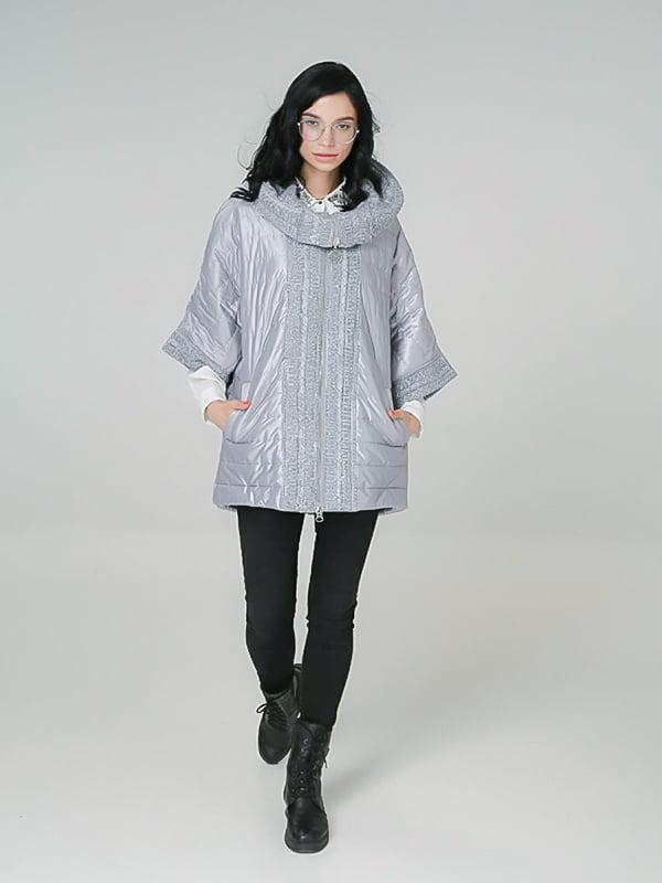 Куртка світло-сіра | 4789263
