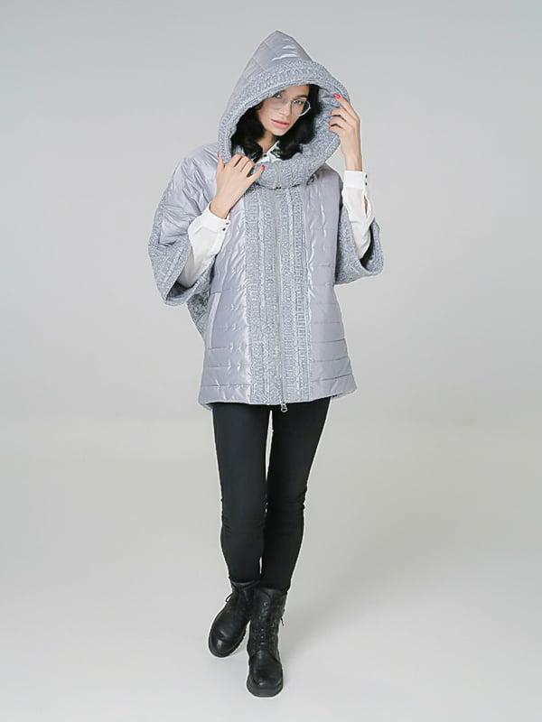 Куртка светло-серая | 4789263 | фото 3
