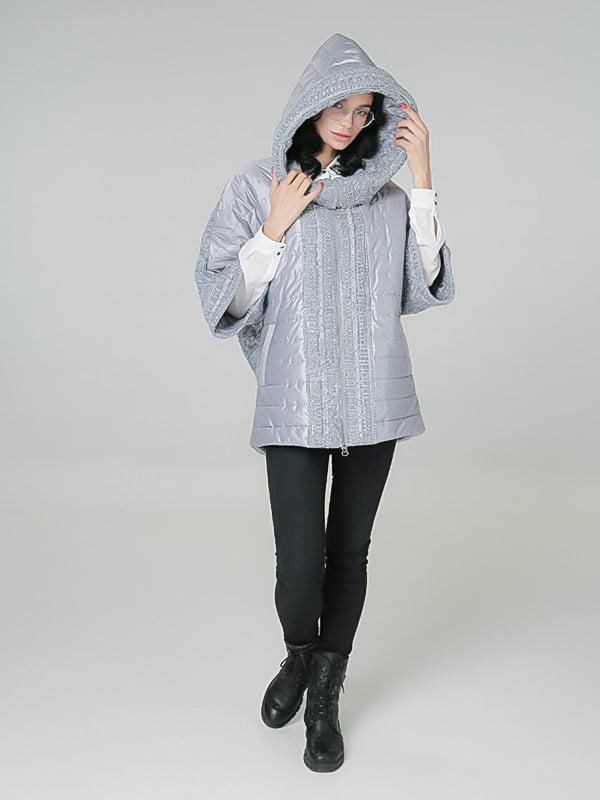 Куртка светло-серая | 4789263 | фото 4