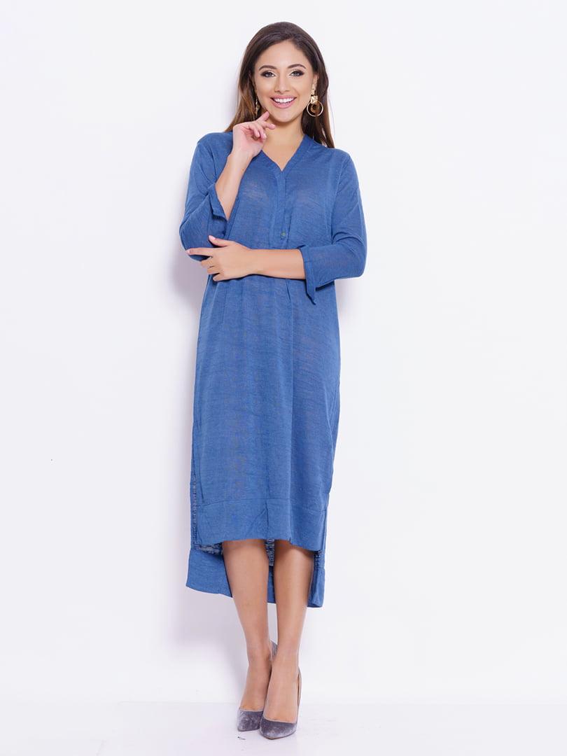 Платье синее | 4782104