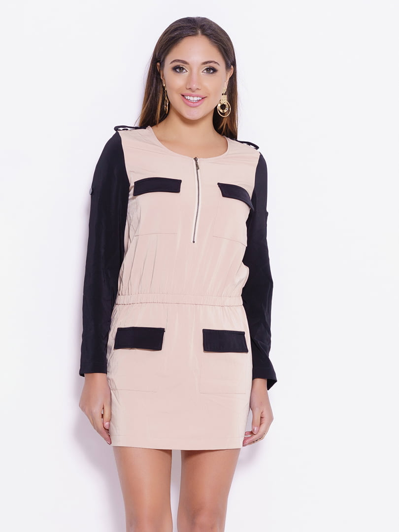 Сукня двоколірна | 4782157