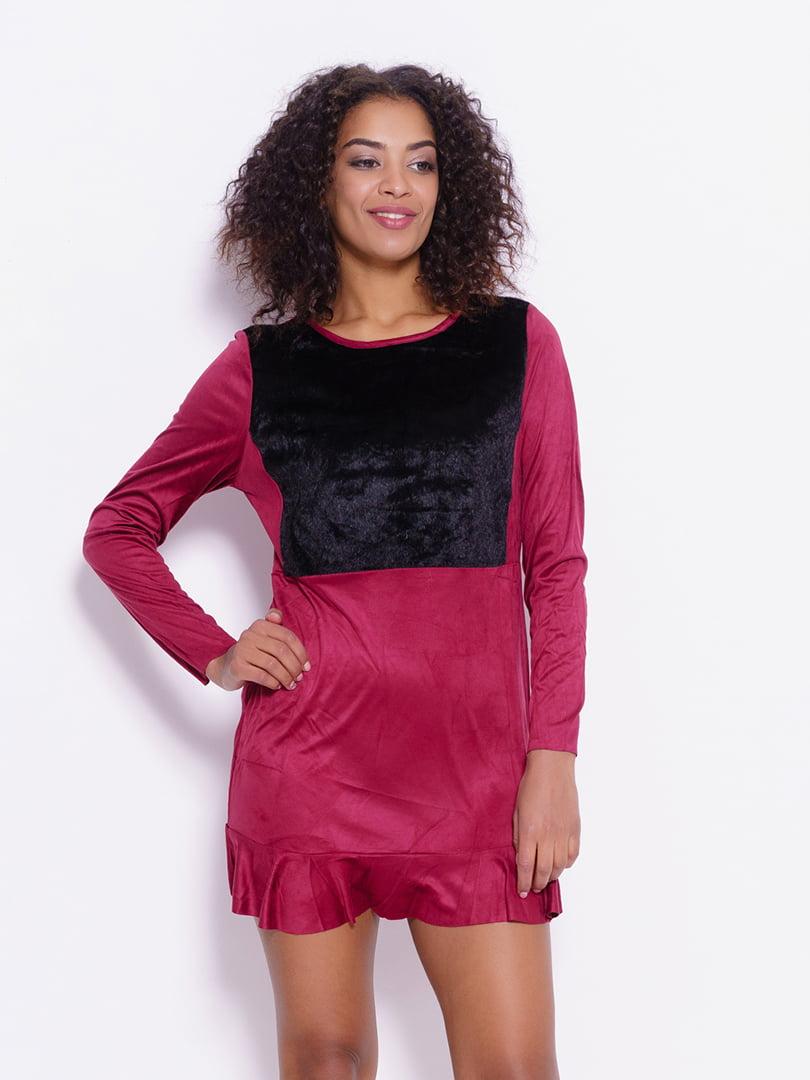 Сукня бордова | 4782225