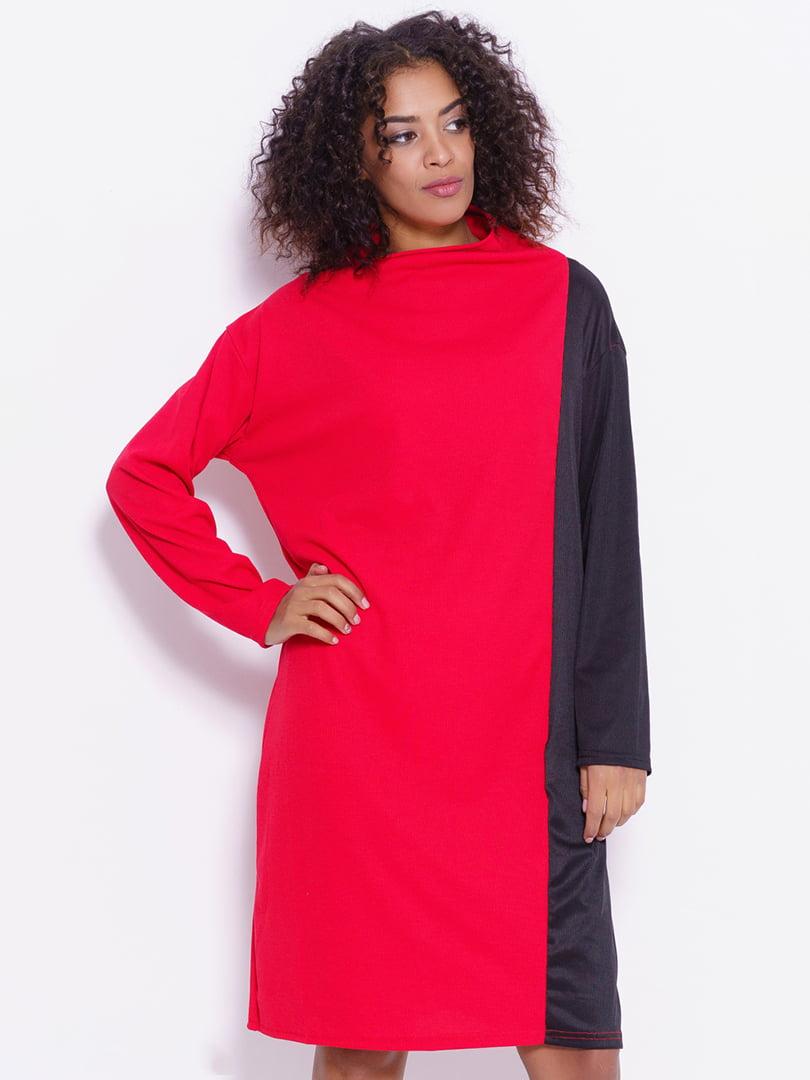 Платье двухцветное | 4782252