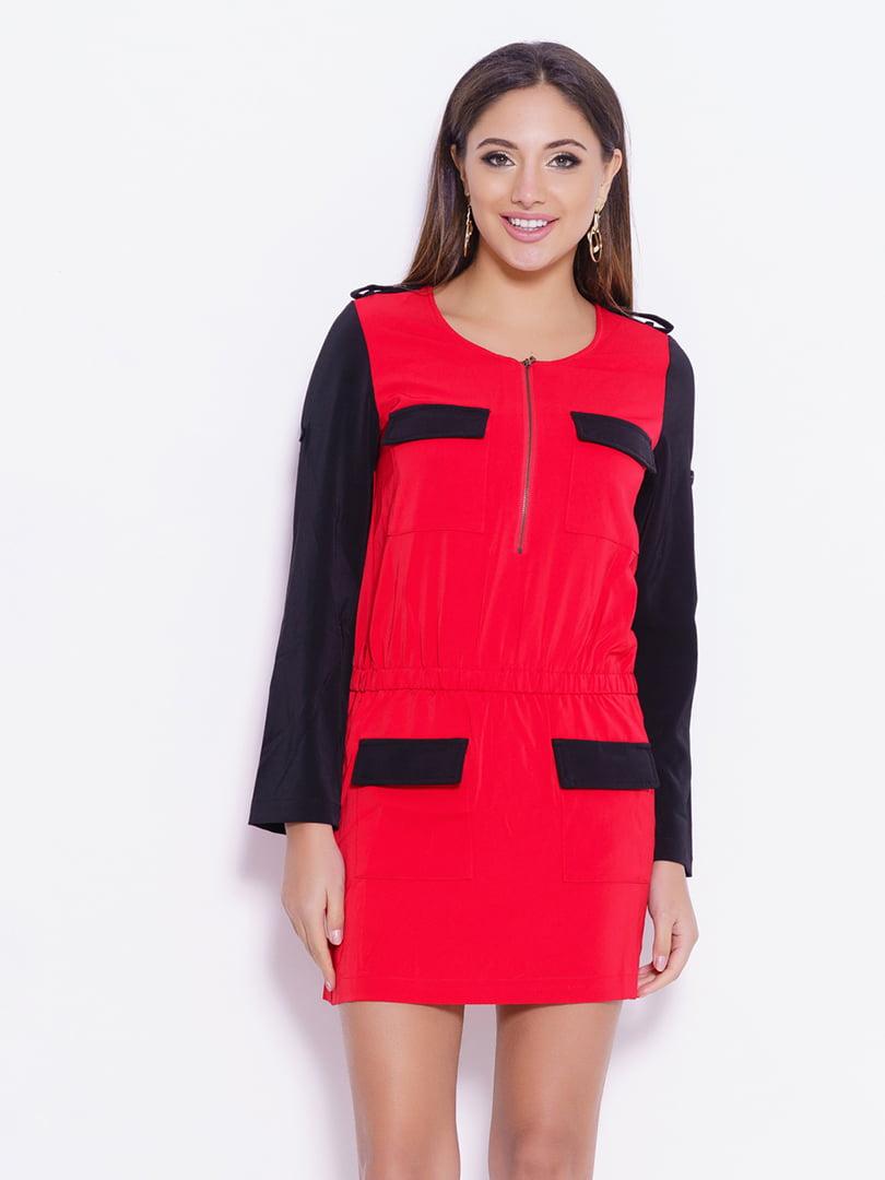 Платье двухцветное | 4782270