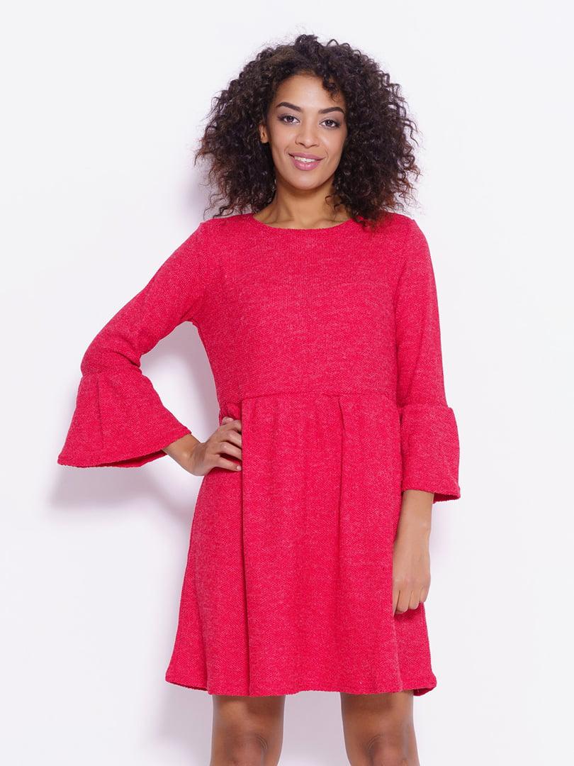 Платье ярко-бордовое   4782274