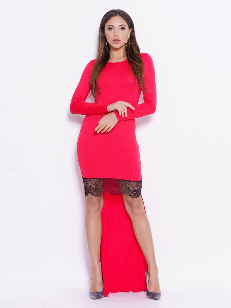 Платье красное   4793121
