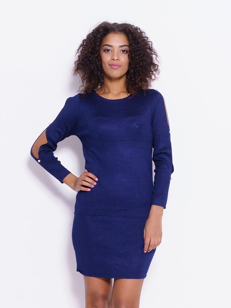 Платье синее | 4793124