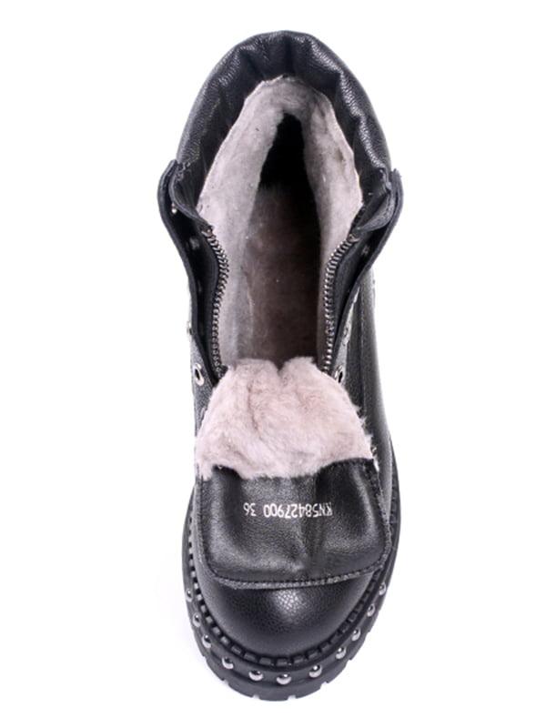 Ботинки черные   4777698   фото 2