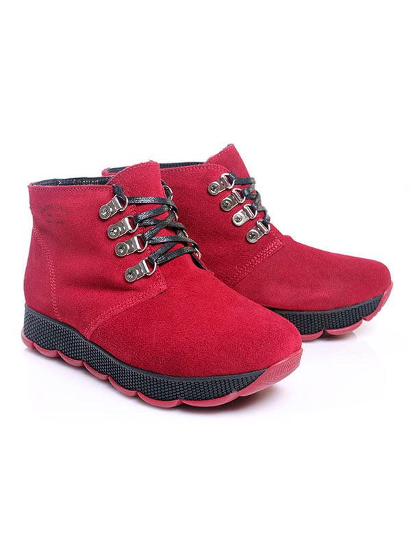 Ботинки красные   4777805