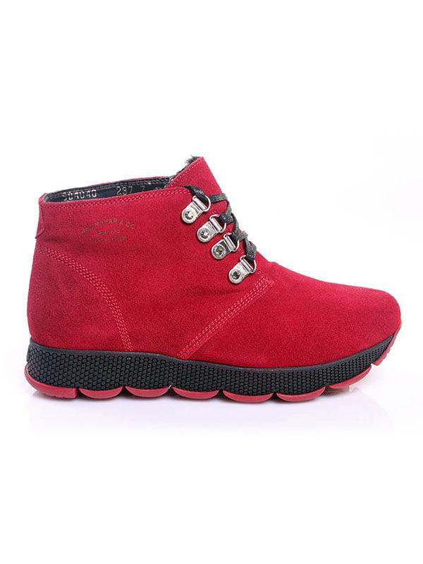 Ботинки красные   4777805   фото 2