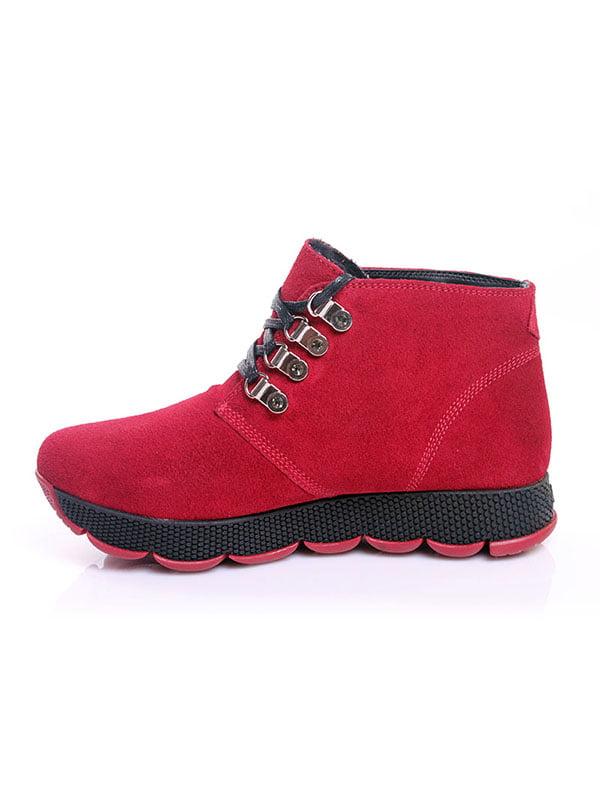 Ботинки красные   4777805   фото 3