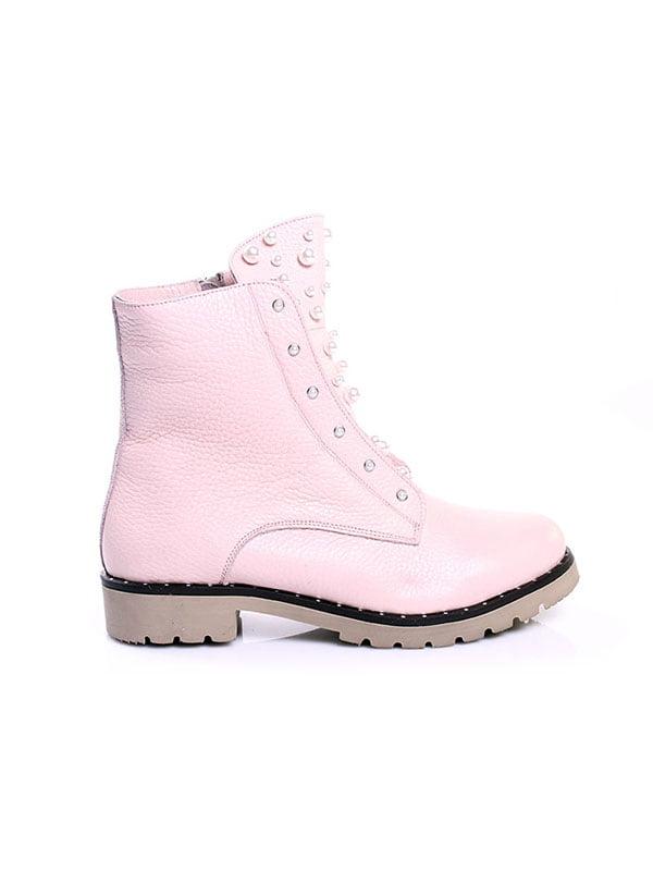 Ботинки цвета пудры   4777807   фото 2