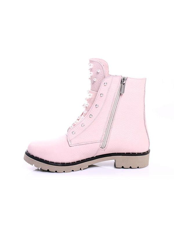 Ботинки цвета пудры   4777807   фото 3