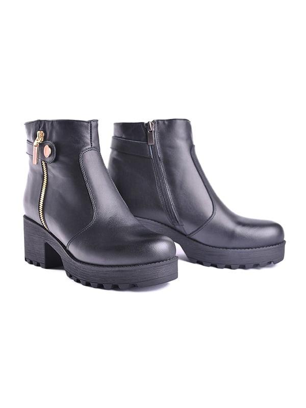 Ботинки черные   4777894