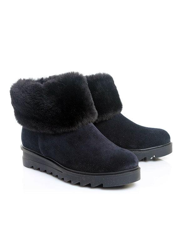 Ботинки темно-синие   4777899