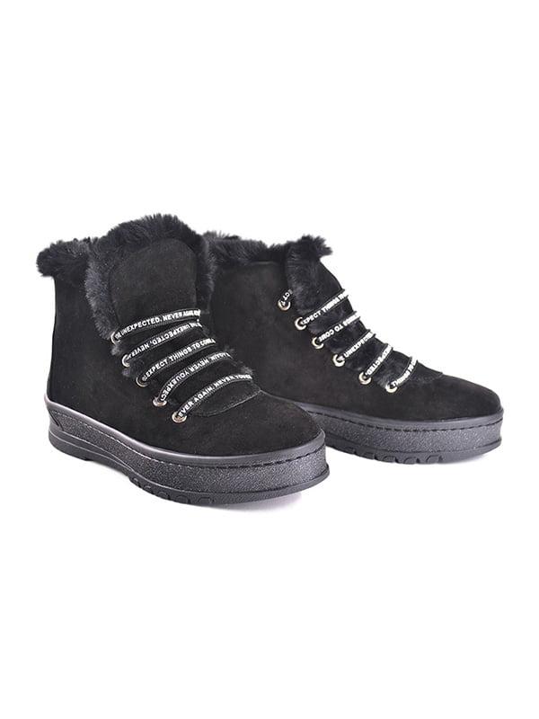 Ботинки черные | 4777932