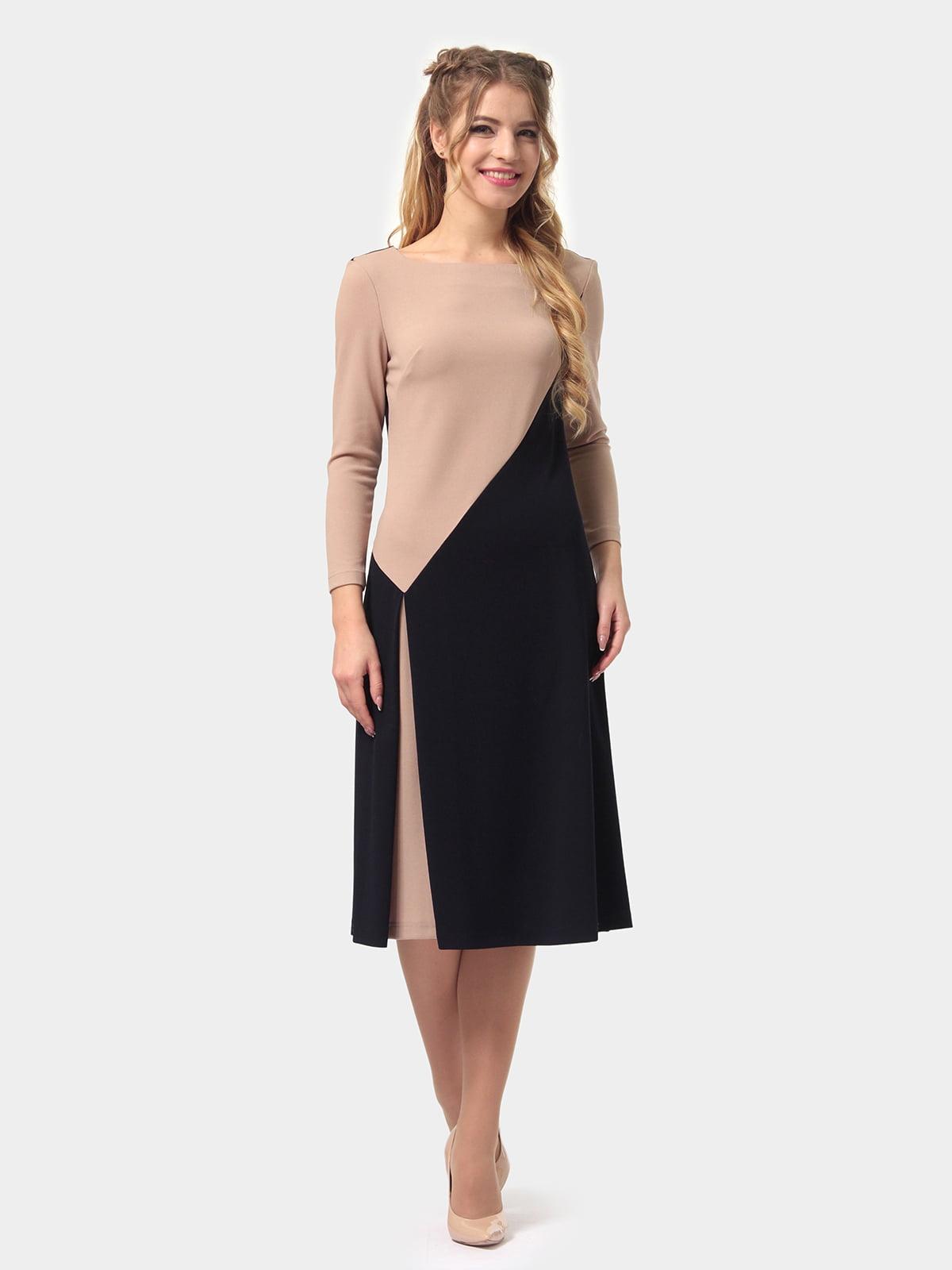 Платье двухцветное | 4794778 | фото 2