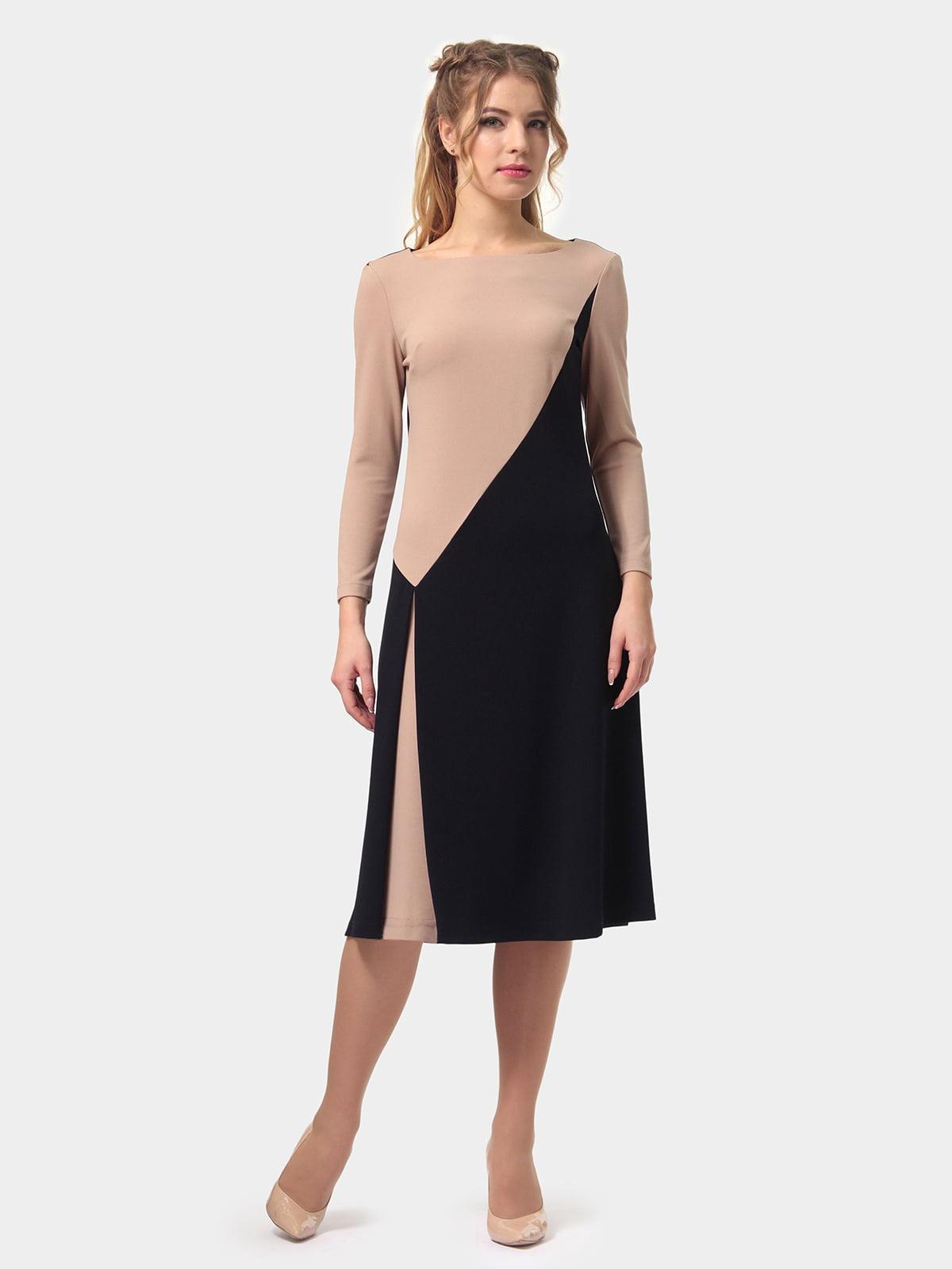 Платье двухцветное | 4794778 | фото 4