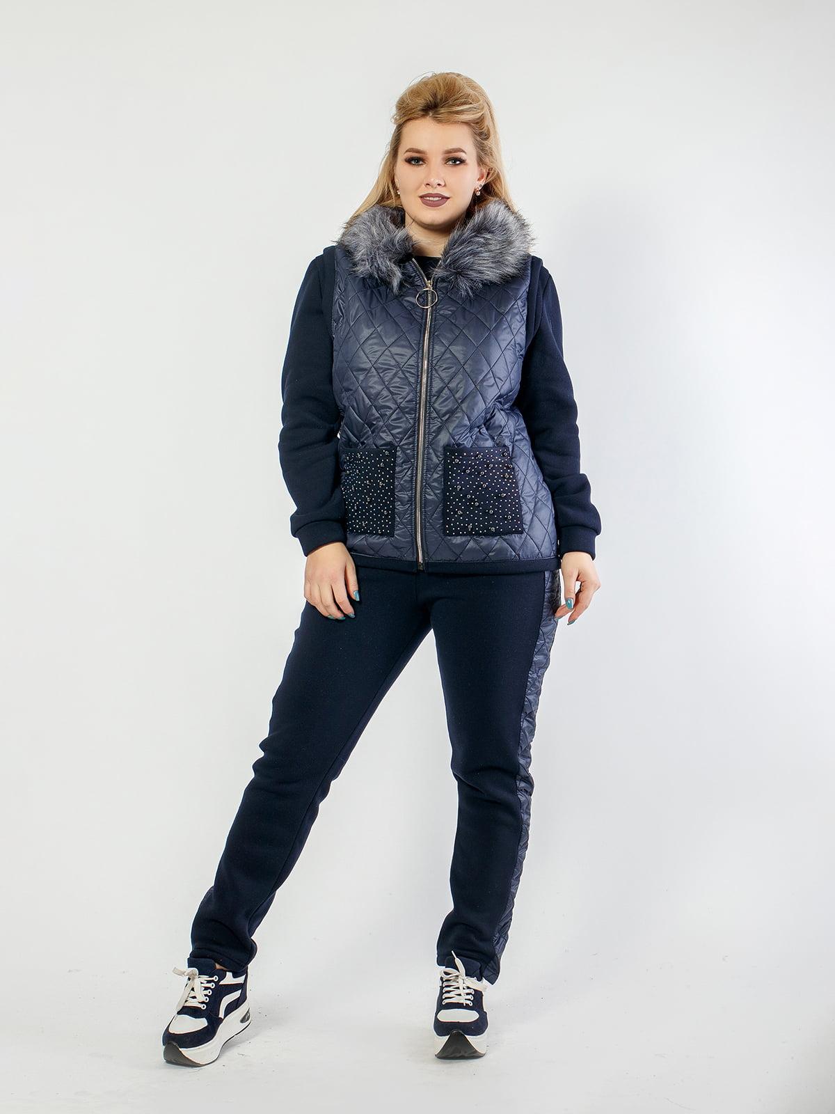 Комплект: джемпер, жилет и брюки   4794583