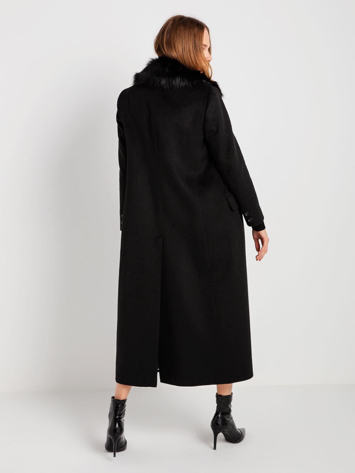 Пальто черное | 4794381 | фото 5