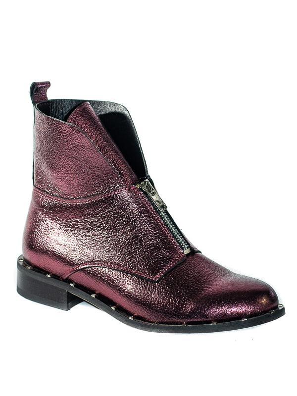 Ботинки сливового цвета | 4798078