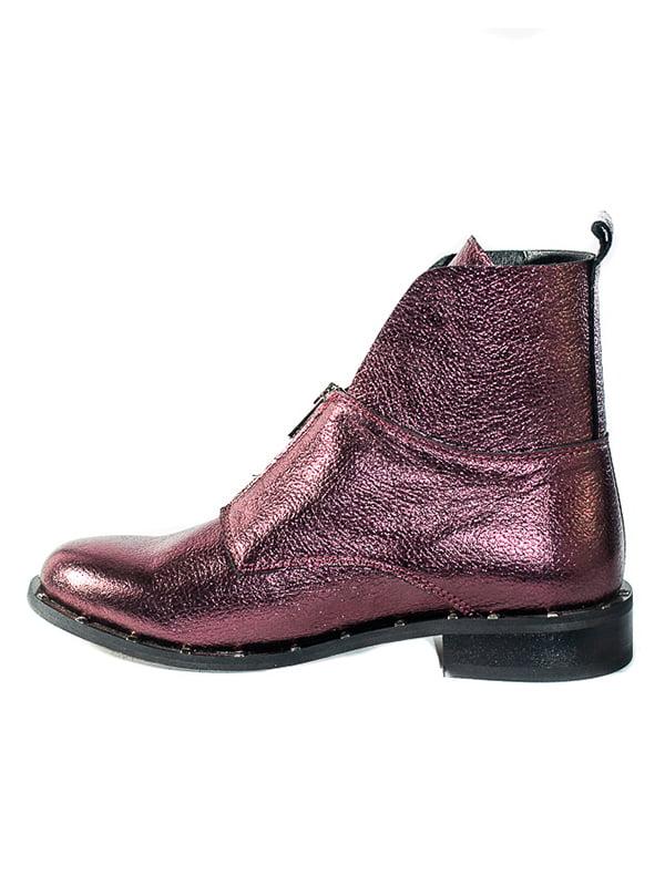 Ботинки сливового цвета | 4798078 | фото 2