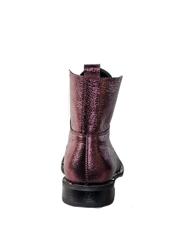 Ботинки сливового цвета | 4798078 | фото 3