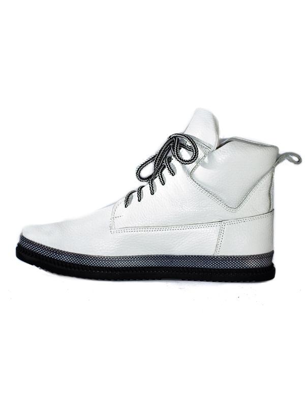 Ботинки белые | 4798079 | фото 2