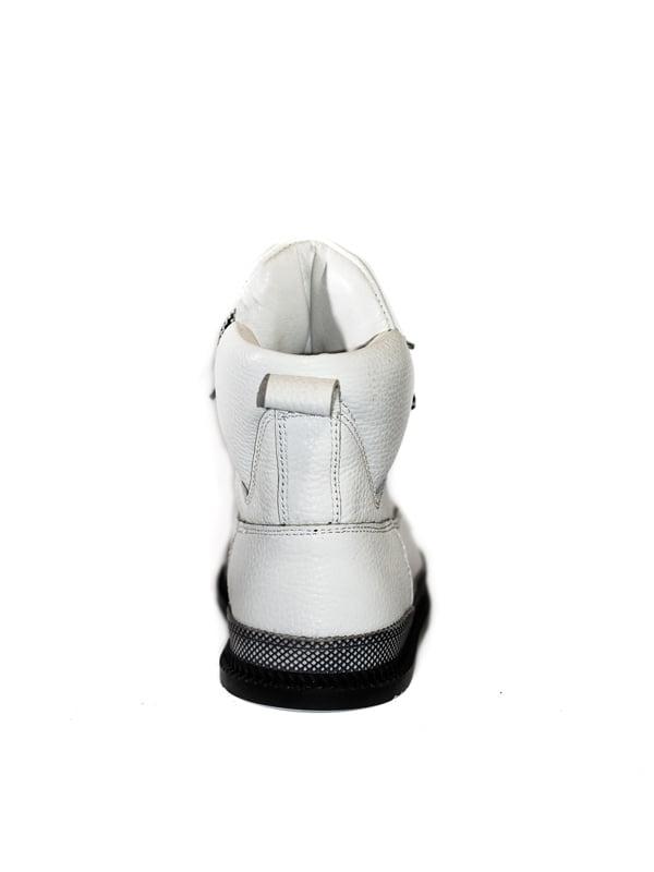 Ботинки белые | 4798079 | фото 3