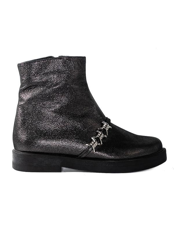 Ботинки серые   4798081