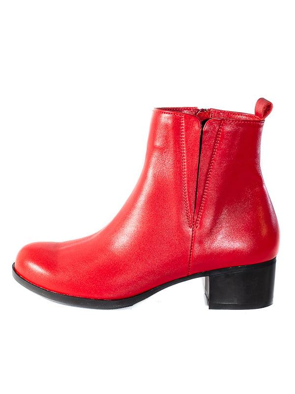 Ботинки красные | 4798083