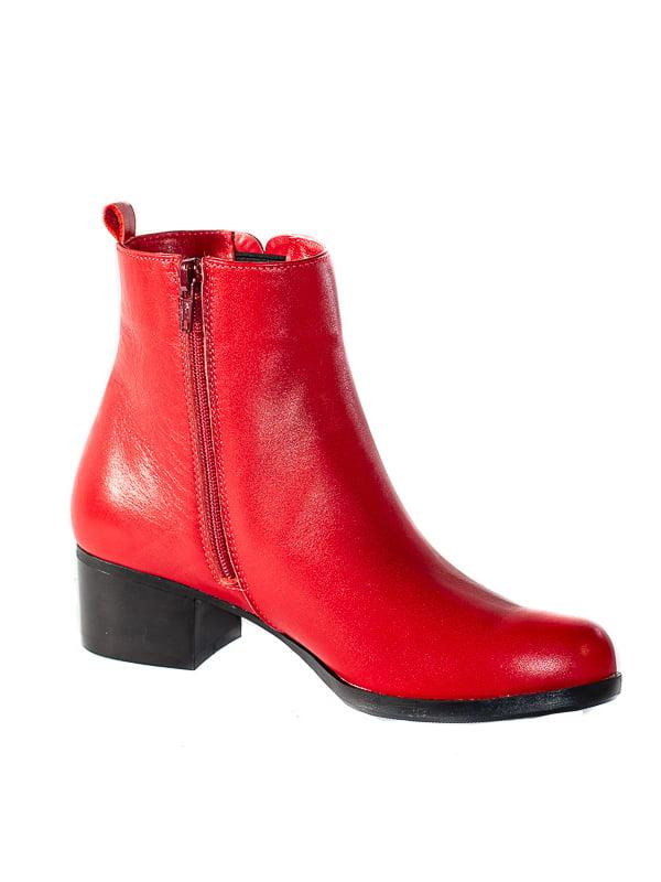 Ботинки красные | 4798083 | фото 2