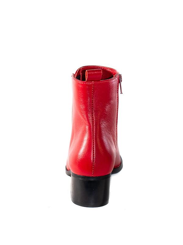 Ботинки красные | 4798083 | фото 3