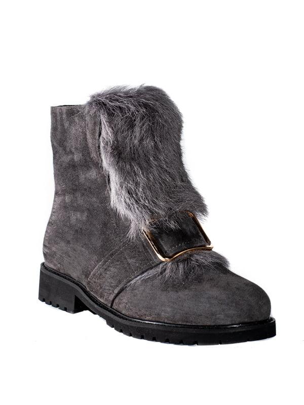 Ботинки серые | 4798138