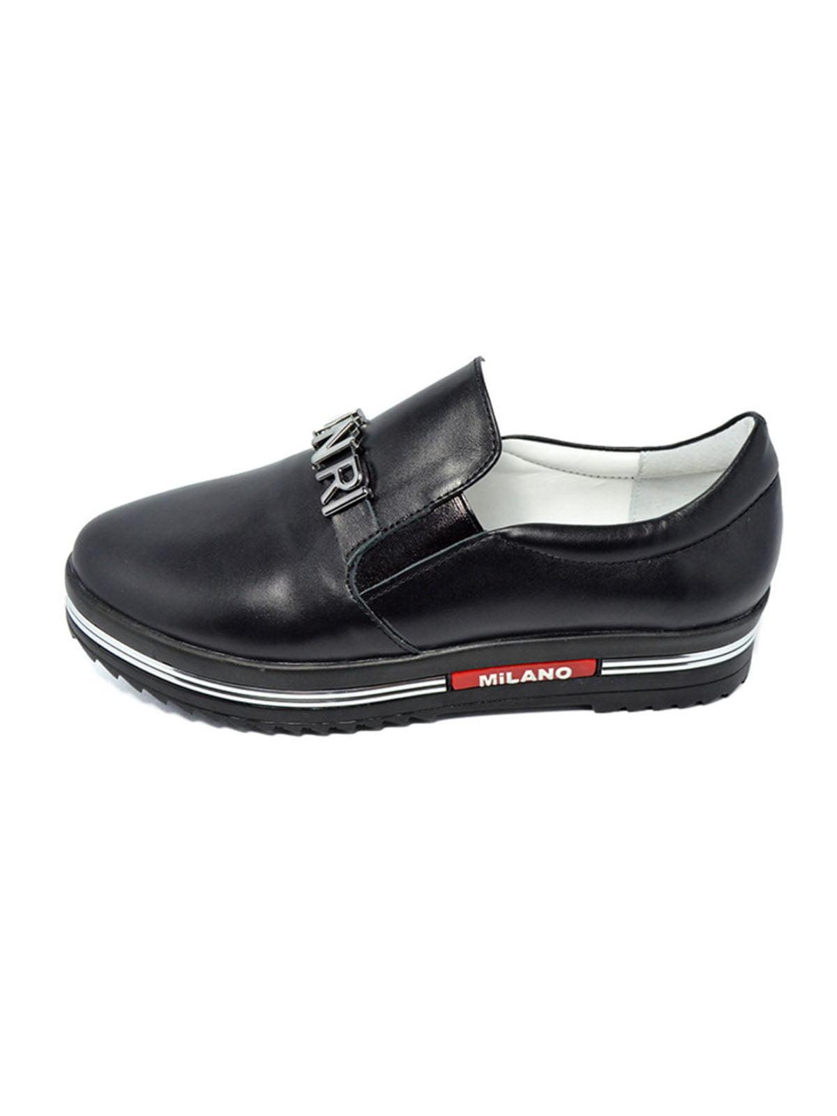 Слипоны черные | 4798155
