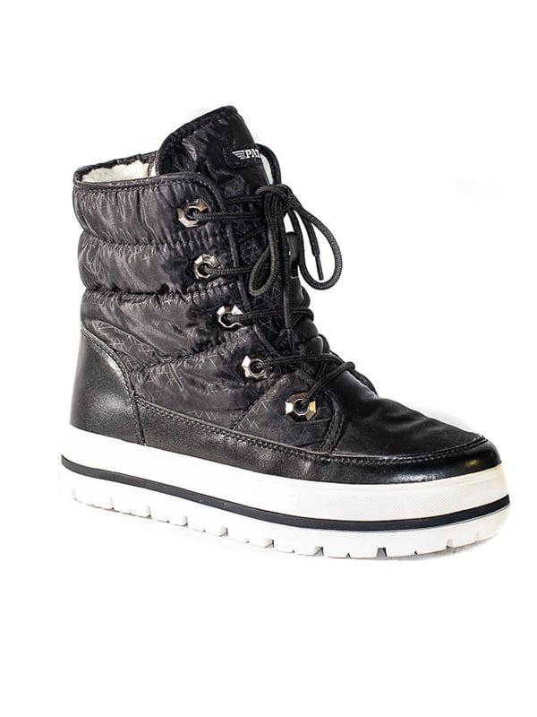 Ботинки черные | 4798164