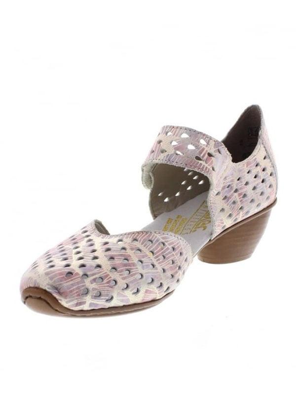 Туфли серо-розовые   4798180   фото 2
