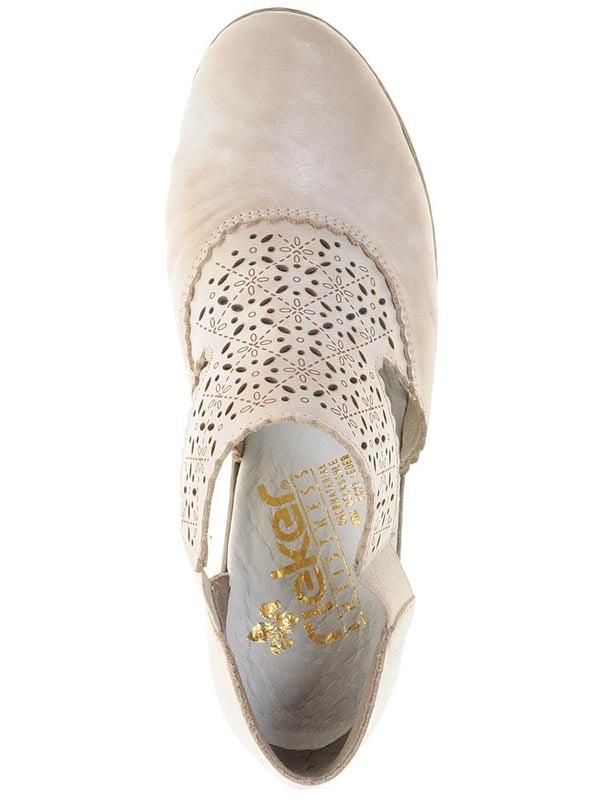 Туфли серо-бежевые | 4798202 | фото 3