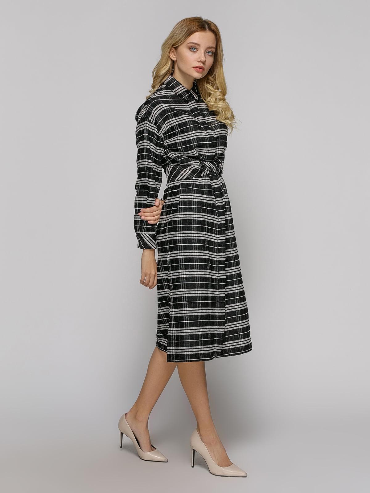 Платье черное в клетку | 4794107