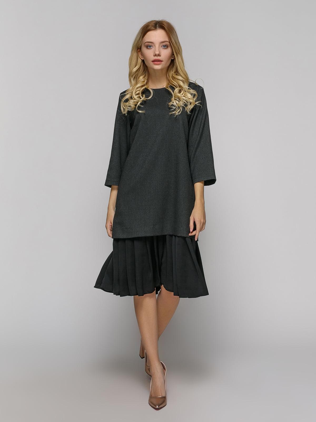 Сукня кольору антрацит   4794112