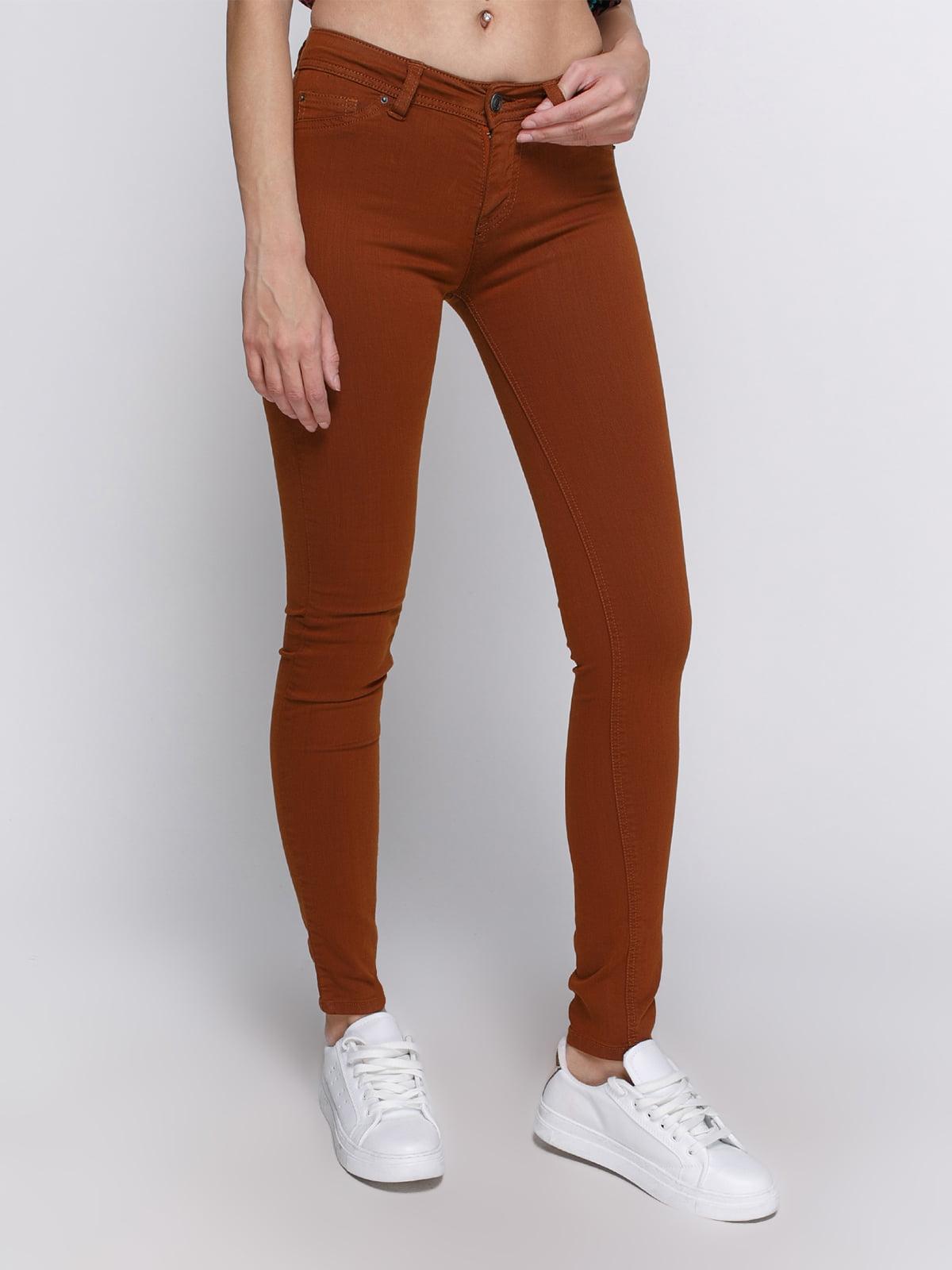Штани коричневі | 2694132