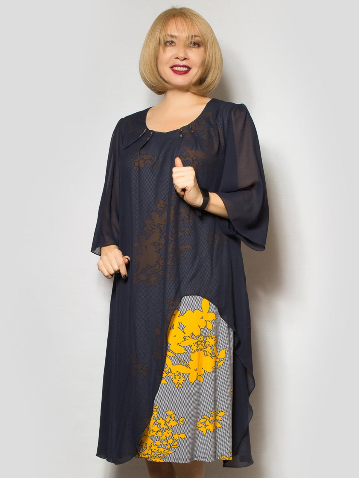 Сукня комбінованого забарвлення | 4807867