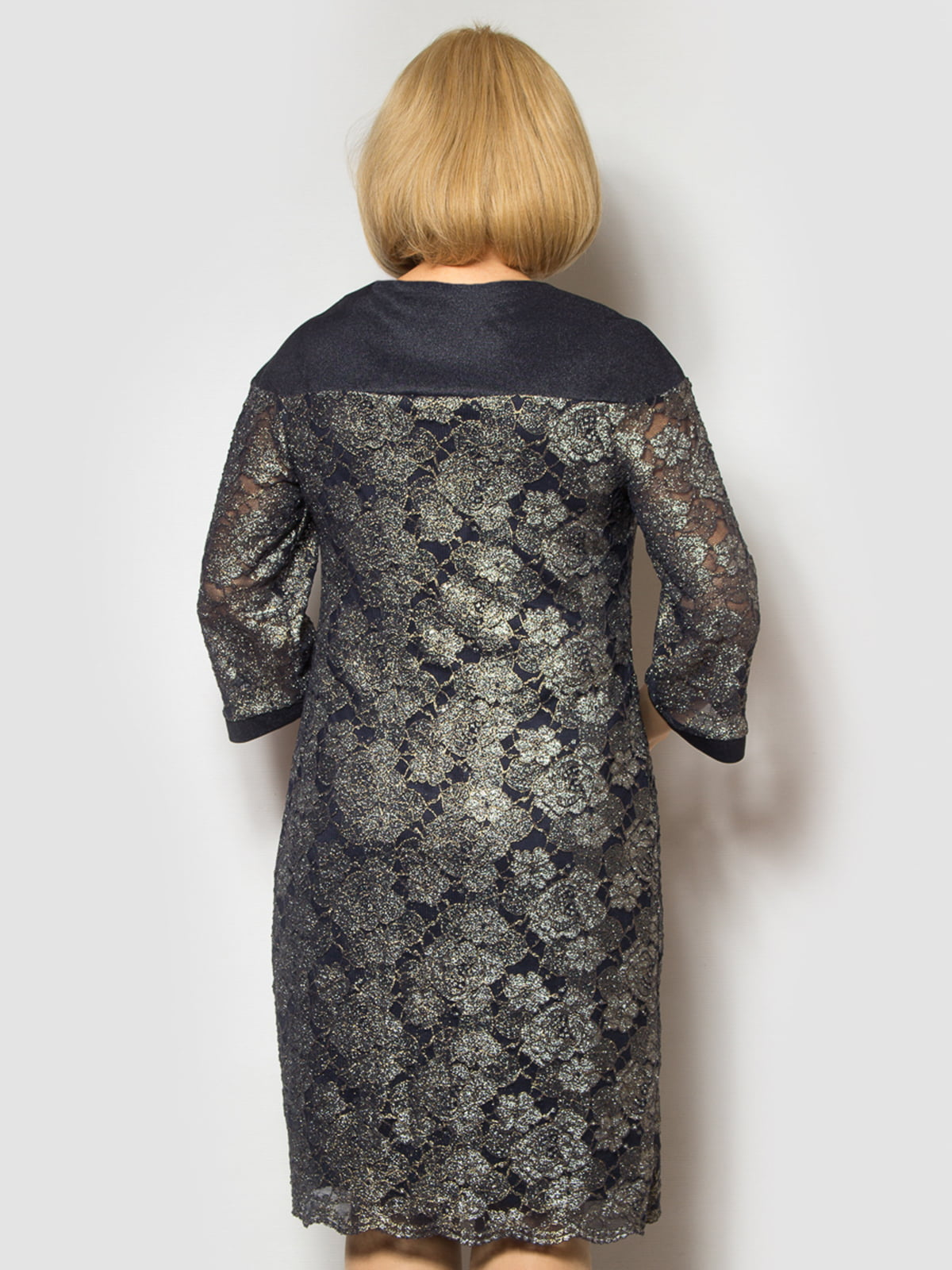 Платье темно-синее   4808005   фото 2