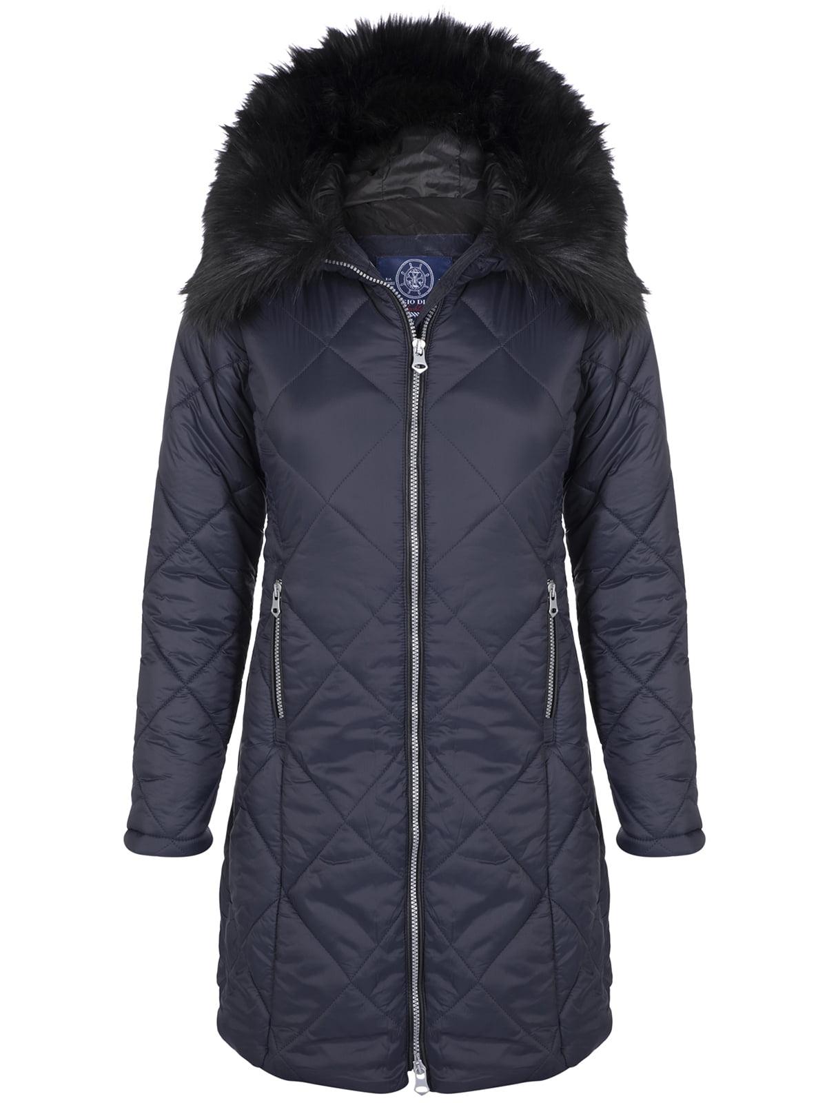 Пальто темно-синее | 4808382