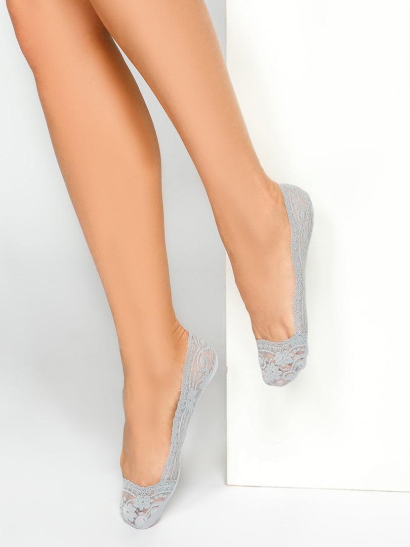 Носки-следки серые | 4587717