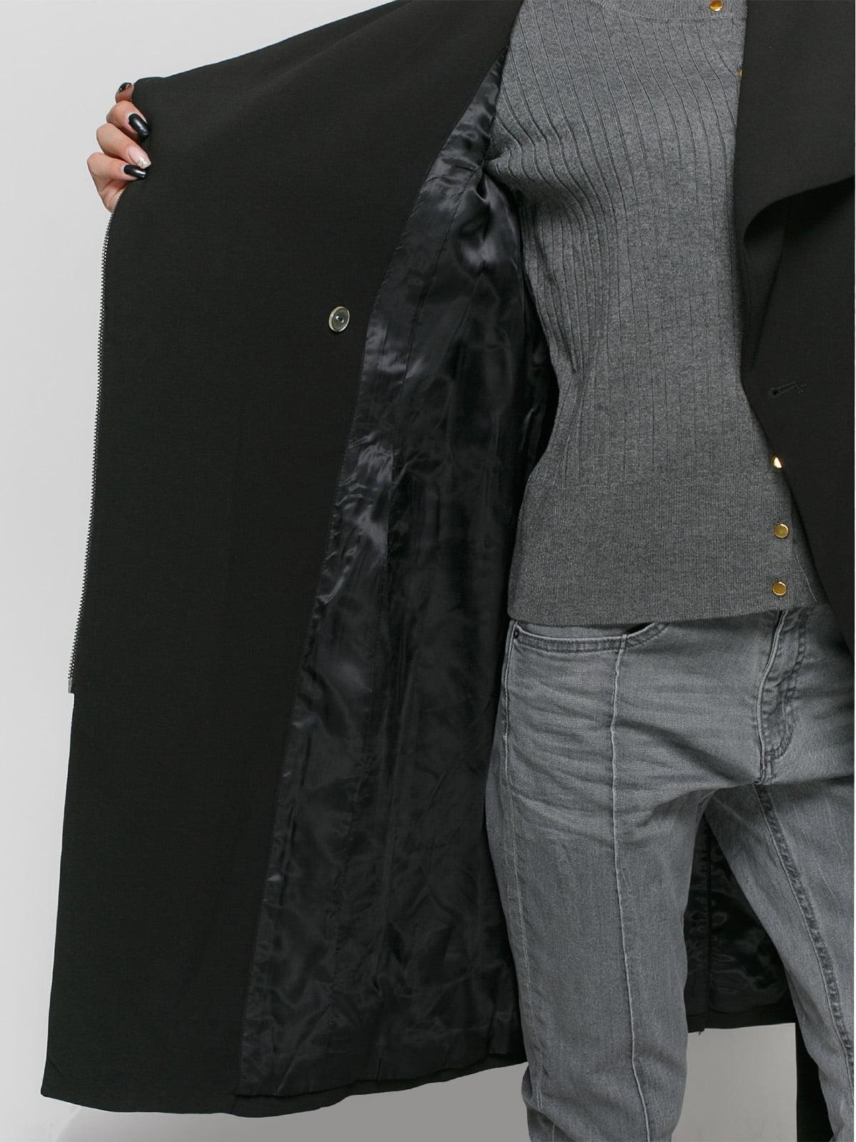 Пальто черное | 4777668 | фото 4