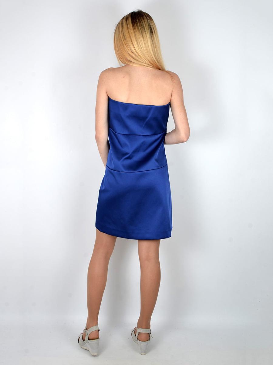 Платье синее | 3166636 | фото 3